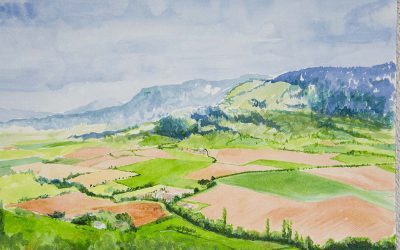 Painting Landscapes in Southern France
