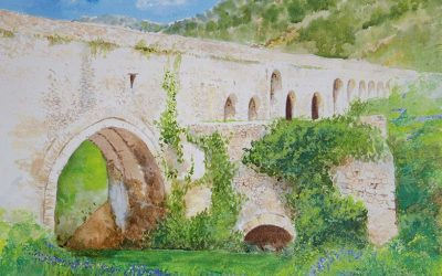 Painting In Cathar Country – Roman Ruins